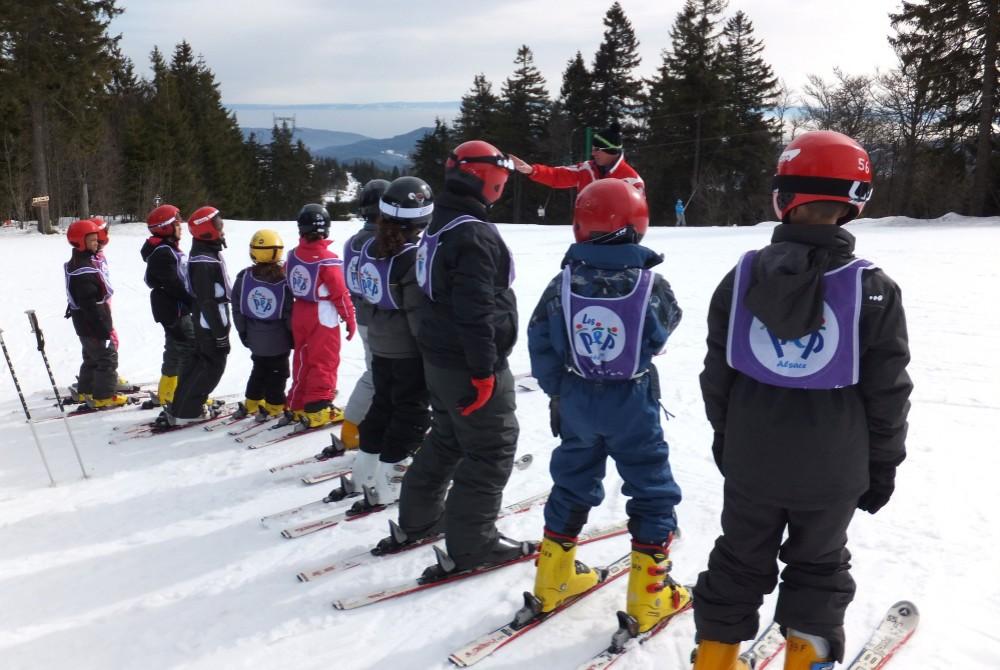 Passage de flocon ou d'étoile pour progresser dans ta pratique du ski