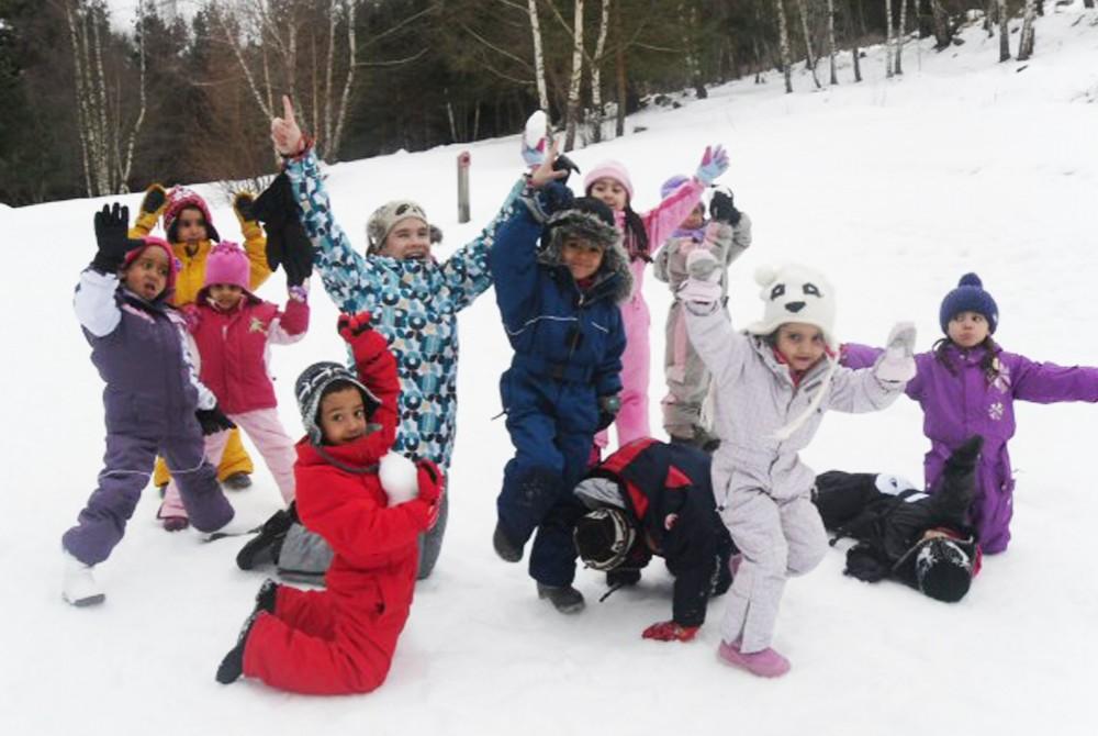 Une colonie de vacances pour profiter de la neige