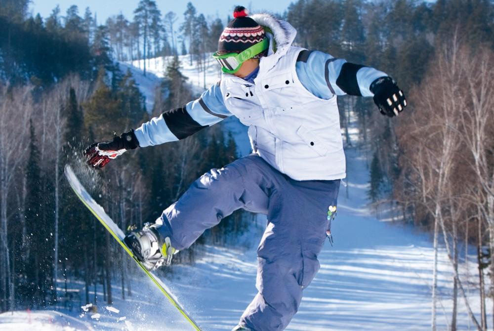 Le bonheur en snowboard, c'est possible dans cette colonie de vacances !