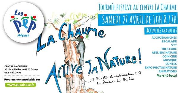 Journée festive au centre La Chaume le samedi 27 avril 2019